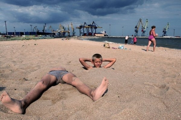 Весёлый пляж