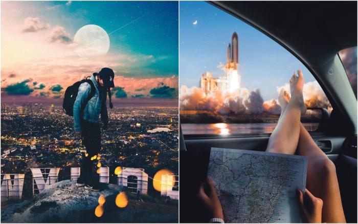 Захватывающие фотоманипуляции Сурьи Крисна