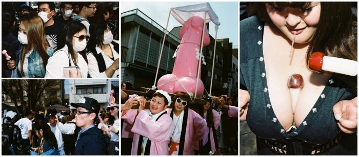 Репортаж с фестиваля гениталий в Японии