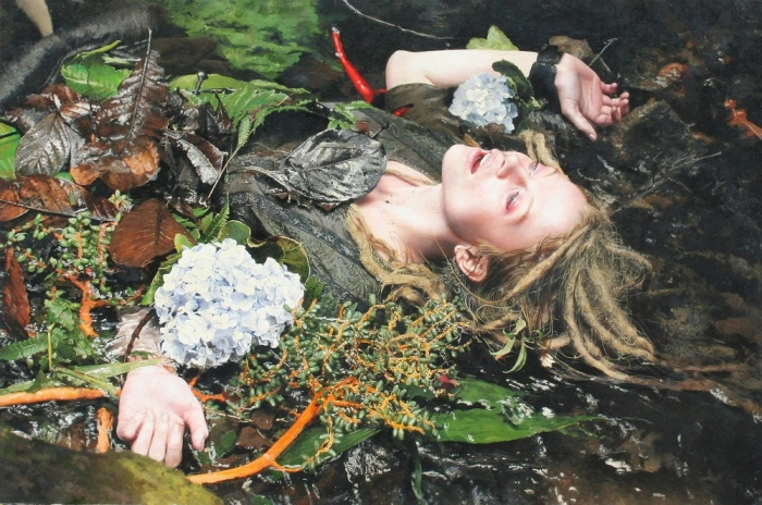 Гиперреалистичные женские портреты Игаля Озери