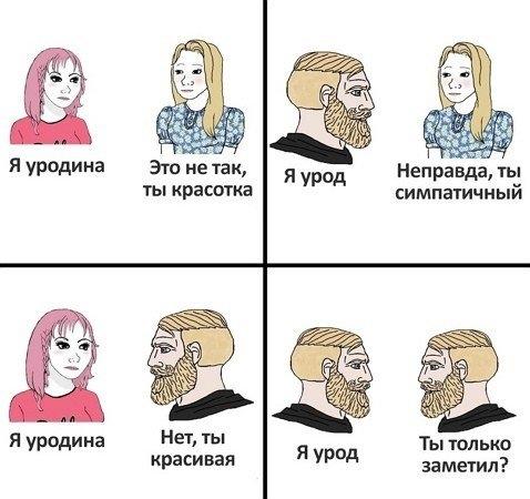 Взгляд на одни и те же вещи глазами мужчин и женщин