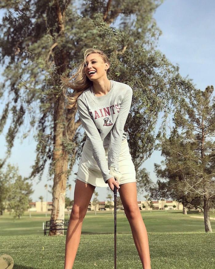 Сексуальные гольфистки