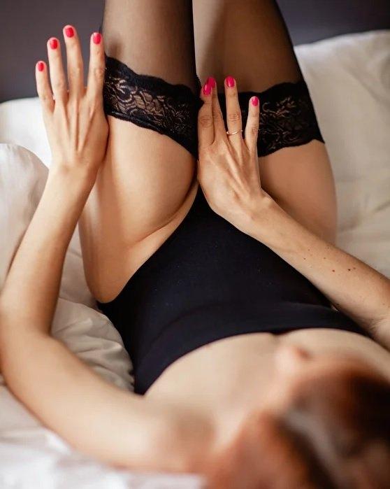 Чулочные секси девушки