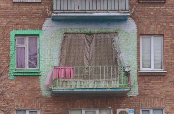 Такие разные балконы