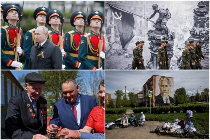 Майские кадры из России