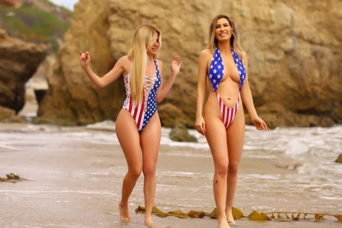 Симпатичные американки