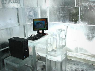 Ледяной офис Microsoft