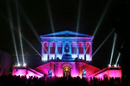 Световое шоу в Берлине (14 фото)