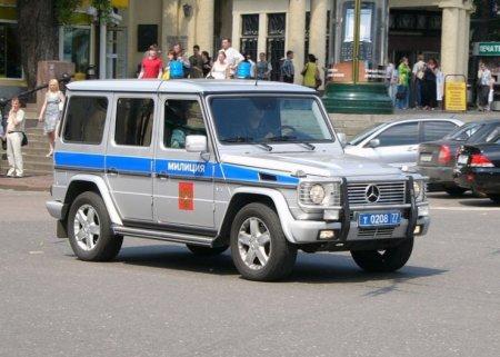 Машинки Росийской милиции (45 фото)
