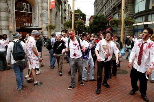 Флешмоб в Сан-Франциско (30 фото)