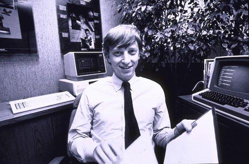 Билл Гейтс в молодости (8 фото)