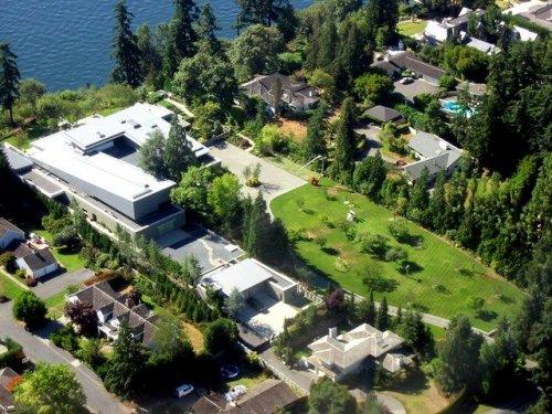 Дом Билла Гейтса (9 фото)