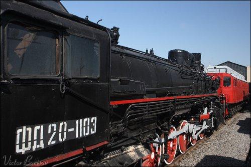 看看老火车头吧