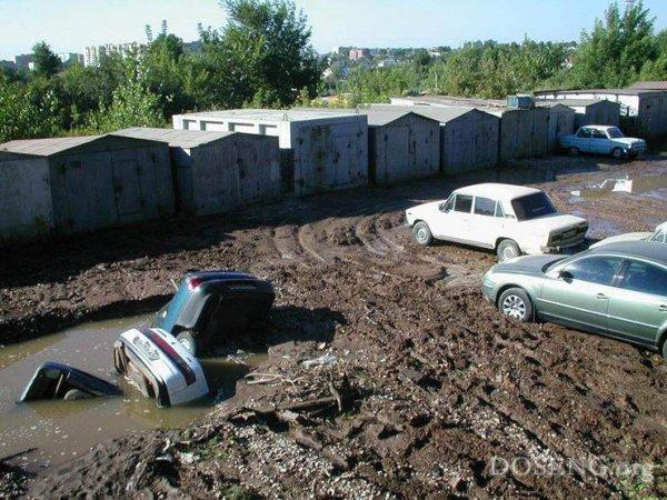 Подборка самых глупых аварий и парковок