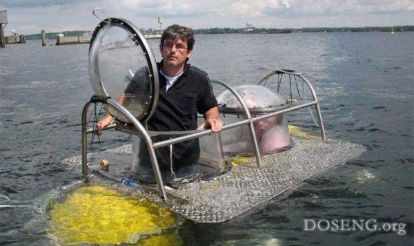 как сделать мини подводную лодку видео